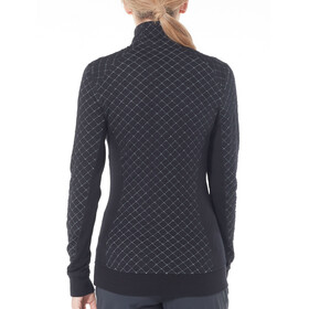 Icebreaker Affinity Thermo LS Half Zip Women Black